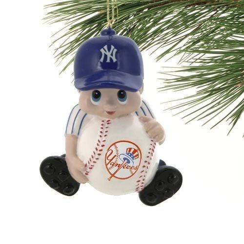 MLB New York Yankees Lil' Fan Baseball Player Acrylic (Mlb Player Ornament)