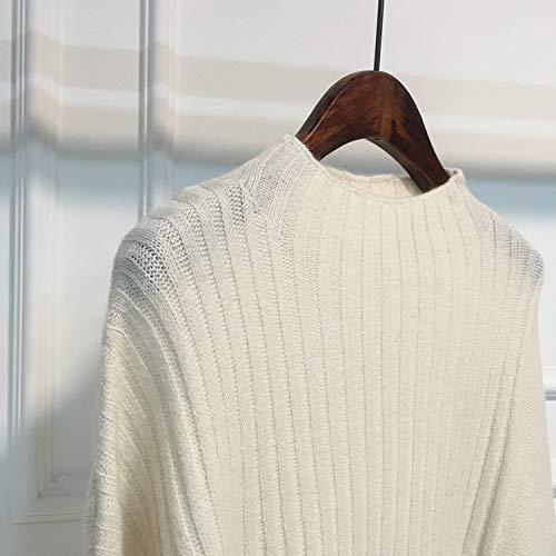 Ingrossato A Blu Maglione Giacca Kndsf White Da Lavorato Maglia Donna Codice Uniform wZUqY8I