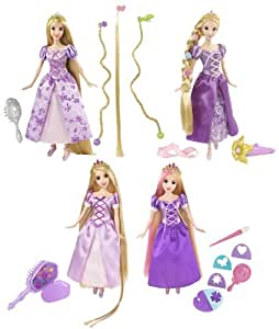Princesas Disney T3803 - Rapunzel trenzas y tirabuzones - Surtido: diferentes colores o personajes