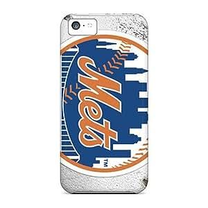 Hot Design Premium FsK1252erUu Tpu Case Cover Iphone 5c Protection Case(new York Mets)