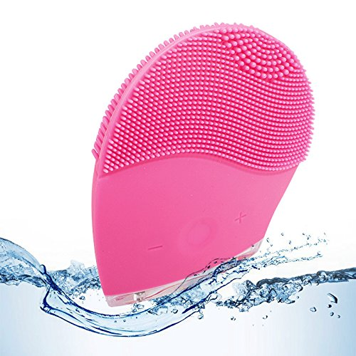 Careshine Electric Soft Silicone Brush Vibration Super Face Washing Machine Facial Massager Cleanser