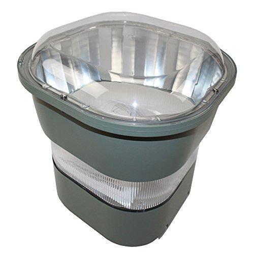 Gardco Lighting GP1 Parking Garage Lighter Low-Bay Light Fixture, 175-Watt Metal Halide, MH