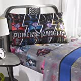 unique full bedding - Unique, Soft and Cool Power Rangers 'Band Together' Bedding Sheet Set, Black/Grey/Multicolor, Full