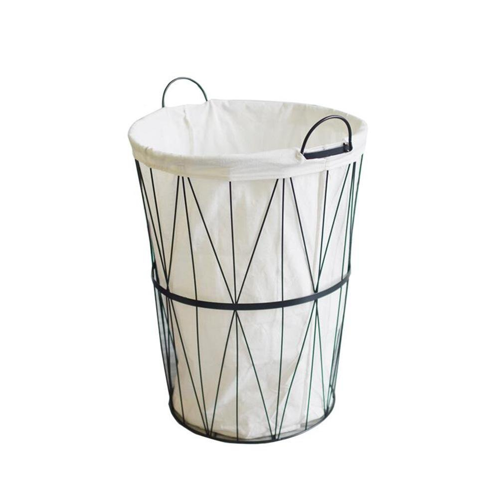 TSAR003 Scandinavian Style Trolley Trolley Laundry Hamper Or Basket Dirty Clothing Toy Tank