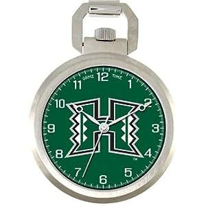 NCAA Men's COL-PW-HAW Pocket Collection Hawaii Warriors Pocket Watch