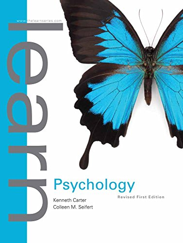 Learn Psychology: First Edition Revised