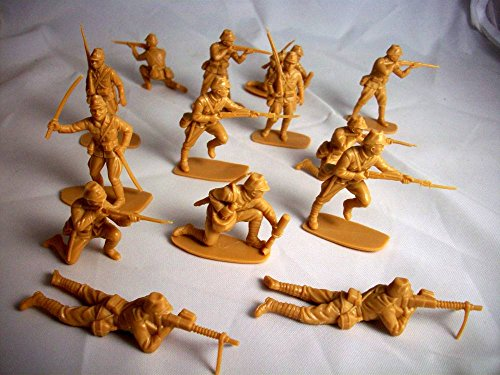 Airfix WWII Japanese, 14 Figures in 7 Poses Offered by Classic Toy Soldiers, Inc ()