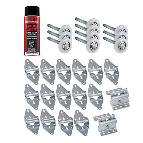 Garage Door Lube/Roller/Hinge/Bracket Tune Up/Service Kit (for 16' x 7'