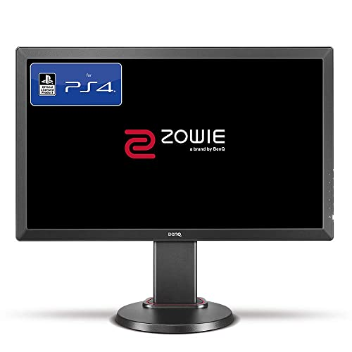 BenQ ZOWIE RL2460S Monitor de 24 para Consola e Sports FHD Monitor Oficial para PS4 PS4 Pro head to head setup Lag free Black eQualizer y Color Vibrance