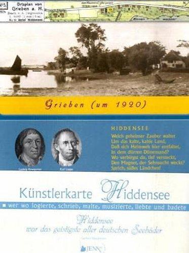 Künstlerkarte Hiddensee: Wer wo logierte, schrieb, malte, musizierte, liebte und badete