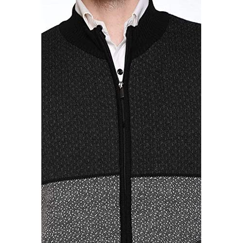 513loEvF93L. SS500  - aarbee Sleeveless Zipper Sweater for Men