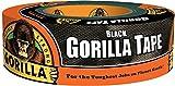 6 Pack Gorilla 6035 Black Gorilla Tape 2'' x 35 Yard Roll