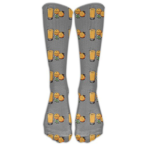 Price comparison product image Fun So Sad My Friends Orange Juice Unisex Crew Fashion Novelty Sock