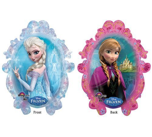 "Disney Frozen Anna Elsa 38"" Balloon Birthday Party Decoratio"