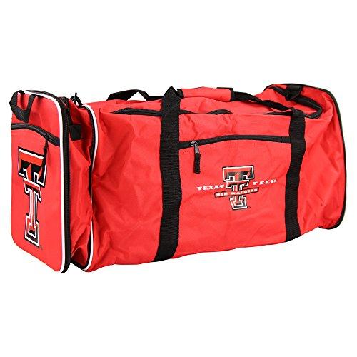 (NCAA Team Logo Extended Duffle Bag (Texas Tech Red Raiders))