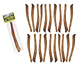 Free Raised Pet Products, 11-12 inch Supreme Bully Sticks, 60 Pack