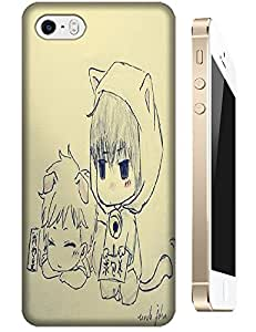 Two Baby Boys Cute Cartoon Cell Phone Cases For Apple Accessories iPhone 5C