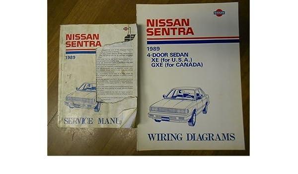1989 Nissan Sentra Wiring Diagram