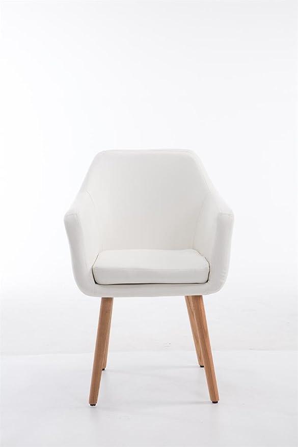 1 opinioni per CLP Sedia poltroncina UTRECHT con portata massima 150 kg, sedia per sala