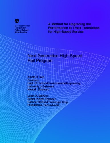 Download A Method for Upgrading the Performance at Track Transitions for High-Speed Service ebook