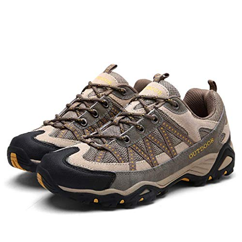 Womens Mens Waterproof Hiking Shoes Outdoor Trail Running Hi
