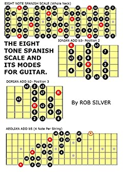 the eight tone spanish scale and its modes for guitar basic scale guides for guitar book 11. Black Bedroom Furniture Sets. Home Design Ideas