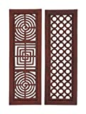 Benzara Wonderful Styled Wood Wall Panel Assorted, Set of 2 Review