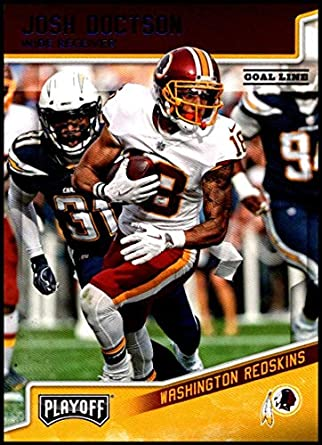 faf485bfd50 2018 Panini Playoff Goal Line  197 Josh Doctson NM-MT Washington Redskins  Official NFL
