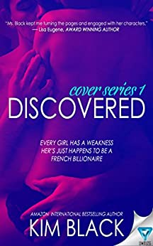 Discovered (The Cover Series Book 1) by [Black, Kim]