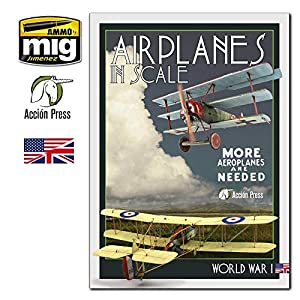 AMMEURO027 AMMO by Mig/Accion Press - Airplanes in Scale Vol III: World War I 4