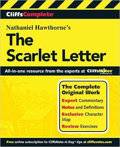 cliffscomplete the scarlet letter
