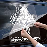 Florida Panthers Official NHL 18 inch z 18 inch Die Cut Car Decal by Wincraft