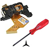 HDE Complete Disk Read Error Fix Kit for Nintendo Wii Gaming System - Replacement Laser Lens + Tri-Wing Y-Tip Screwdriver [Nintendo Wii]