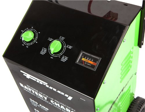 Forney 52725 Wheeled Battery Charger 2 10 40 200 Amp 6