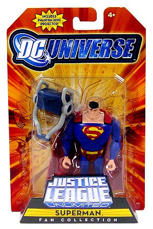 (DC Universe Justice League Unlimited Fan Collection Action Figure Superman Includes Phantom Zone Projector)
