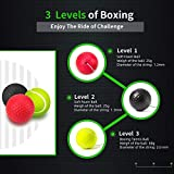 Gdaytao Boxing Reflex Ball, 3 Levels Activpulse