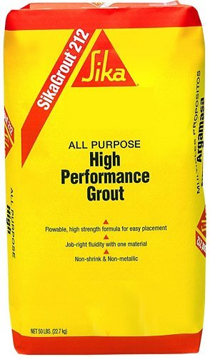 Sika 90824 05255se Cement/Structural Grout, 50 Lb, Gray - Tile Grout