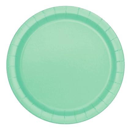 Mint Paper Cake Plates 20ct  sc 1 st  Amazon.com & Amazon.com: Mint Paper Cake Plates 20ct: Kitchen u0026 Dining