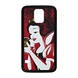 Snow White Pattern Image Case Cover Hard Plastic Case for Samsung Galaxy S5 i9600 Regular