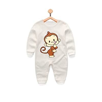 0-18 Months 100% Cotton Long Sleeve Onesie Sleeper Assorted Colors by A Little Grape Direct