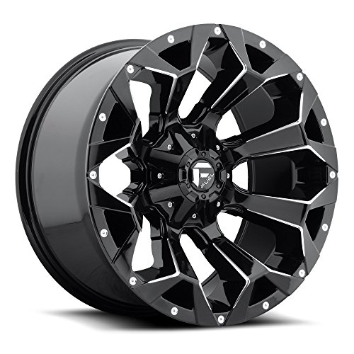 (Fuel Assault 20x9 Gloss Black Wheel / Rim 6x135 & 6x5.5 with a 1mm Offset and a 106.4 Hub Bore. Partnumber D57620909850)
