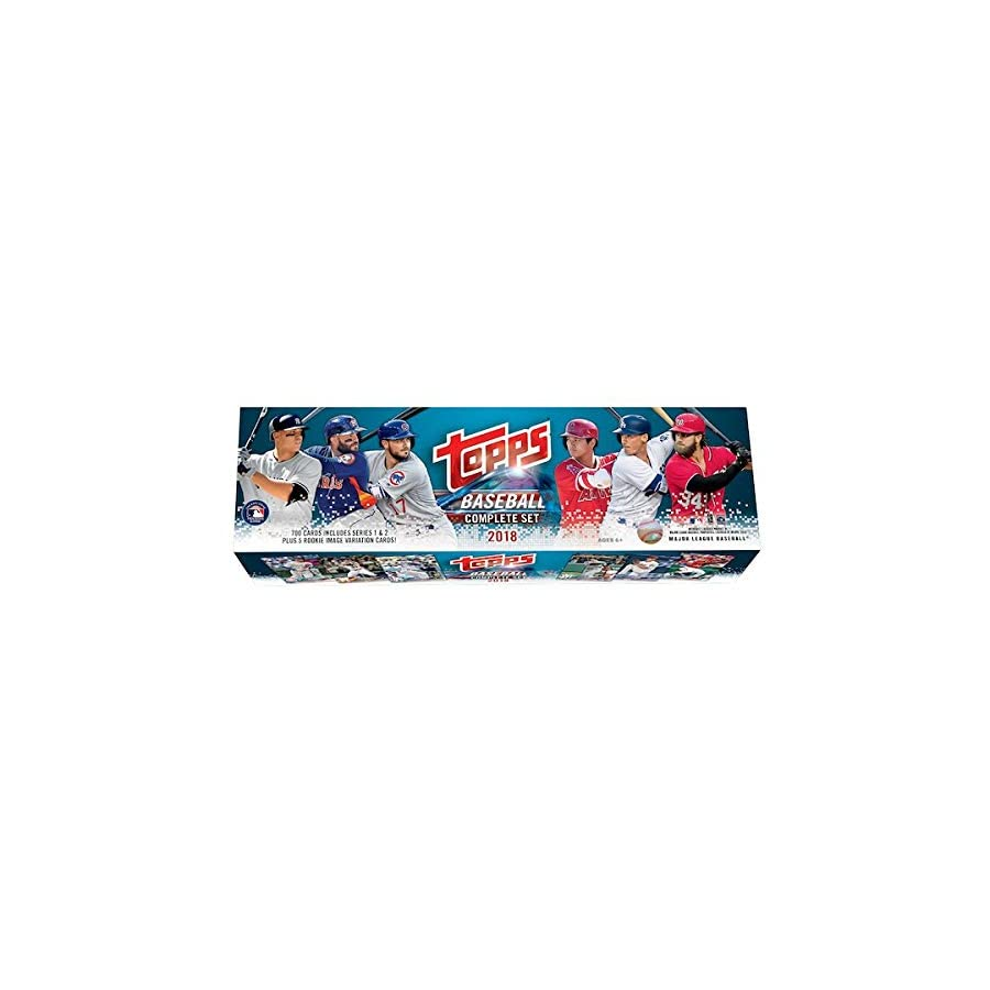 2018 Topps Baseball Factory Sealed Retail Set (705 Cards with 5 Bonus Rookies)