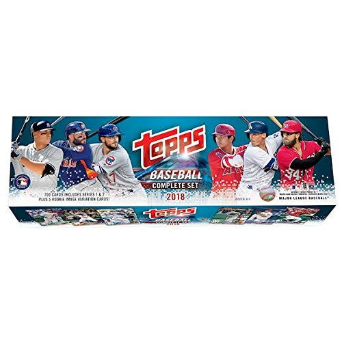 2018 Topps Baseball Factory Sealed Retail Set (705 Cards with 5 Bonus - Sets Complete Baseball Card