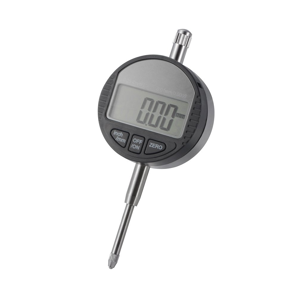 XCSOURCE DTI Dial Test Indicators 0-25.4mm/1', Digital Dial Probe Indicator 0.01/0.0005' Resolution for Accuracy Measurement BI817 Digital Dial Probe Indicator 0.01/0.0005 Resolution for Accuracy Measurement BI817