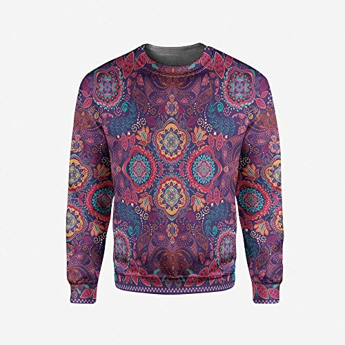 3D Print Purple Pullover Sweater by iPrint