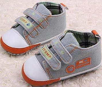 b025473362c64 Amazon.com : Dunnomart Super Quality 1pair Spring Baby Crib Shoes ...