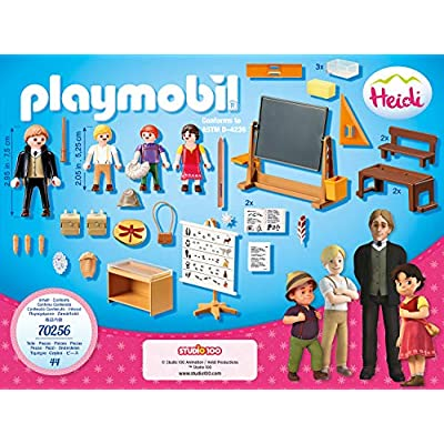 PLAYMOBIL 70256 Heidi School Lessons in Dorfli: Toys & Games