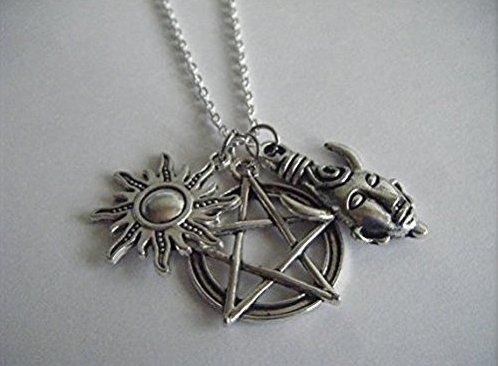 UPC 612291219056, Supernatural Protection Pendant Necklace Devils Trap Anti-possession Tattoo Samulet Sam