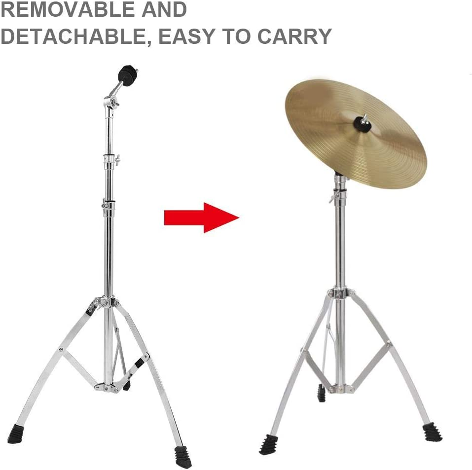 Standard Double-Braced Lightweight Cymbal Stand Boom Cymbal Stand