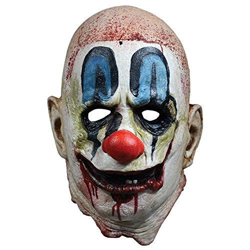 Zombie Mask Rob (Rob Zombie 31 Poster Mask Full Head Mask, White Red Blue,)